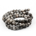 Yiwu factory natural stone beads stretch bracelets,round 4.6.8.10.12mm