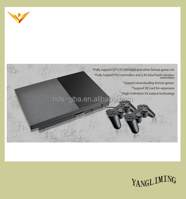 wholesale PAP-1000 play station TV game console with 2 CD 200 games