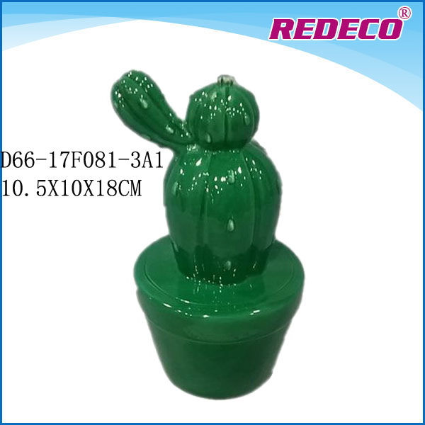 Indoor Decoration Artificial Ceramic Cactus Plants