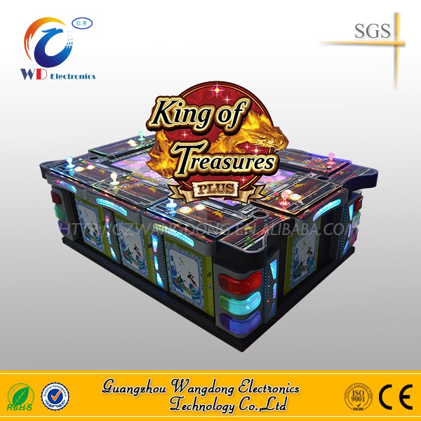 2016 hotest video game console king of treasures plus/ocean king2 ocean monster fishing game machine
