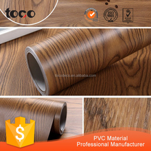 Decorative Self Adhesive Wood Grain Vinyl Film/Laminate Paper for Kitchen Cabinet