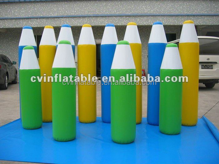 inflatable advertising ;inflatable promotionals; inflatable colour pen