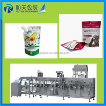 low price automatic water pouch photo chips tea bag sachet sugar packing machine