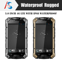 2015 hotsale outdoor ip68 Waterproof Dustproof Shockproof 5 inch quad Core mini sim card Android mobilePhone Rugged smart phone