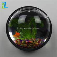 indoor wall-mounted acrylic fish aquarium large and mini size acrylic fish tank environment friendly fish bowl