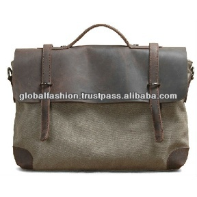 canvas messenger bag,laptop bag for men, hot sale executive bags for men with competive price leather laptop bag