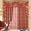China simple curtains for living room olive green curtains