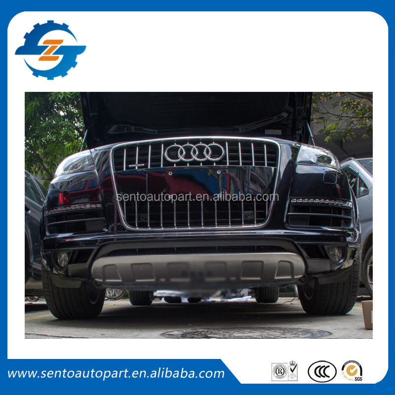 Car accessories auto Q7 bumper guard kit lip guard auto protector front bumper guard for Au-di Q7