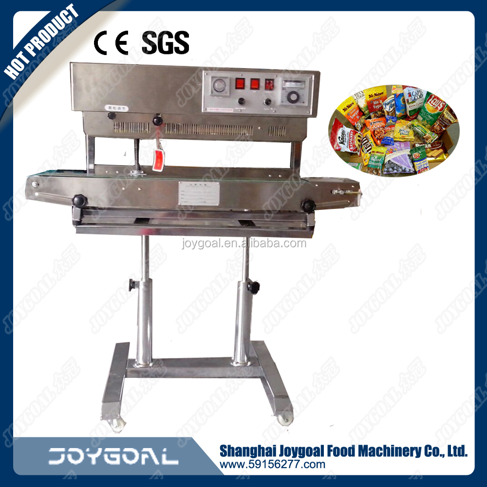 automatic plastic bag sealing machine/hot seal cold cut bag making machine