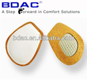 high shock absorption latex foam insole metatarsal insole