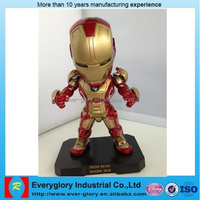 new product ironman 1:1 scale plastic Figurines Wholesale