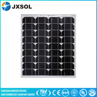 Solar photovoltaic panel 50w monocrystalline with high efficiency lowest price in China