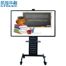 "50"" 55"" 65"" 70"" 75"" 85"" cheap infrared multi touch smart board interactive whiteboard with pc"