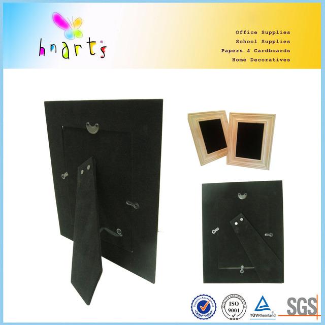 home decoration photo frames, paper photo frame,black cardboard photo frame