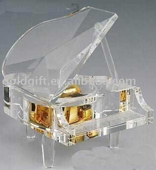 traditrional crystal piano