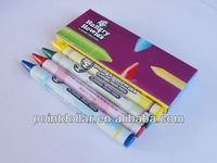Wax Colour Crayon Set, 4 pcs Crayon packing in an Elegant Gift Box