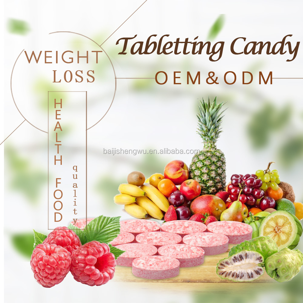 OEM Design Nutritional Supplements Weight Lose Raspberry Tablets