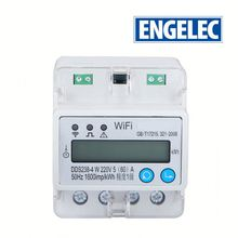 APP control multi-function din rail DDS238-4W MODBUS-RTU and WIFI 802.11b/g/n 3phase energy <strong>meter</strong>