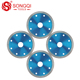 SongQi hot products diamond concrete saw blade cutting stone