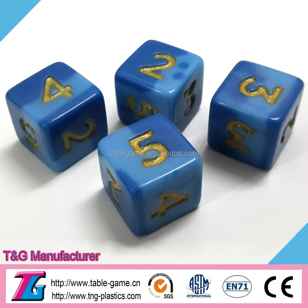 High quality numberal dice for board game