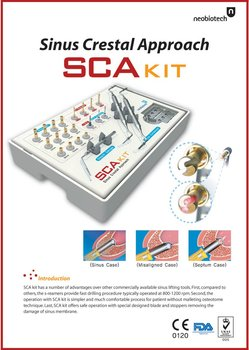 SCA Kit dental implant surgical kit