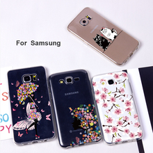 Phone case for Samsung Galaxy S7 edge Cases Print Pattern Fashion phone Cover