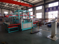Plastic Vacuum Forming Machine for Plastic Container Making