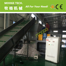 Automatic Pe/Pp Plastic Film Double Shaft Shredder