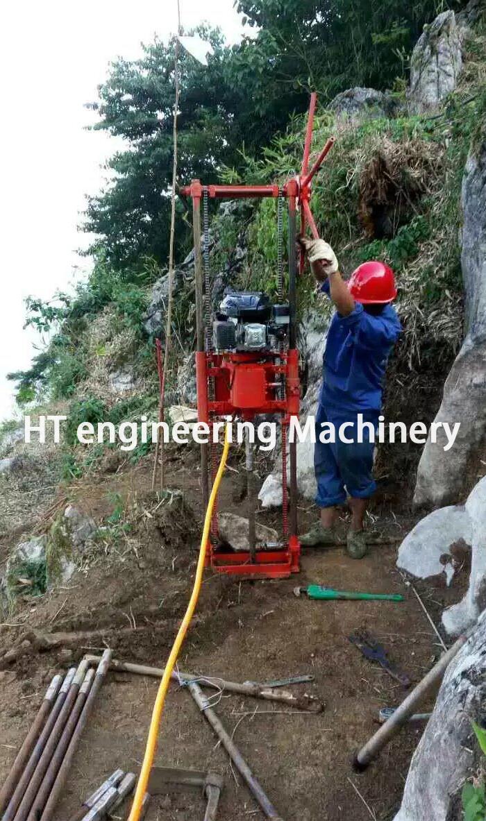 2019 New Designed Advanced Petrol Vertical Core Drilling Machine