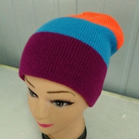 Custom Design Popular Pompom Knit Hat