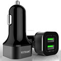 Quick Charger 3.0 36W 2 Usb Car Charger for mobile phone