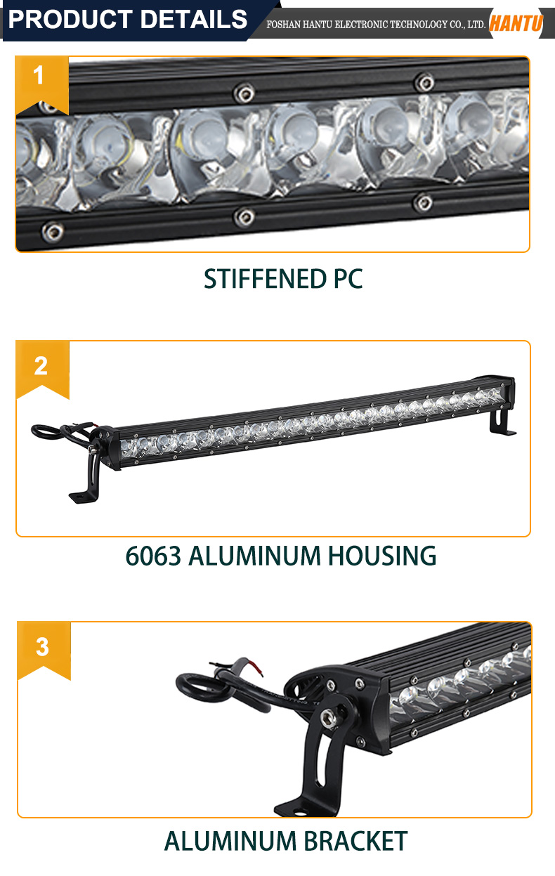 2017 new product slim car led light bar 150W one row led offroad light bar very fashion auto light for JEEP,SUV,ATV