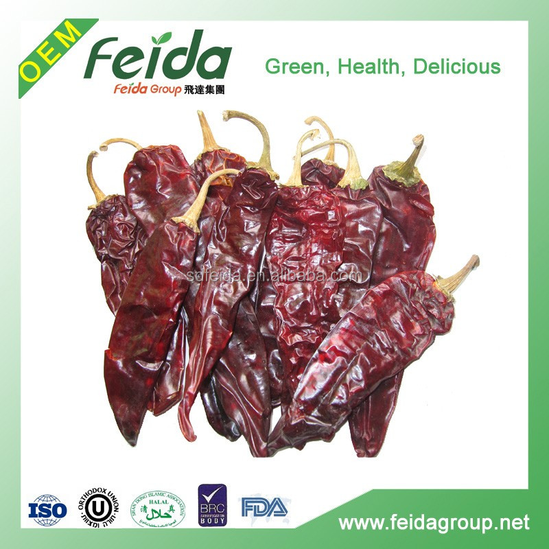 Top Quality Dried Sweet Red Paprika Chili Chilli Stem/Stemless