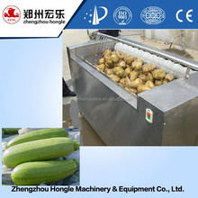 Vegetable processing Stainless steel Brush Washing Machine for Taro