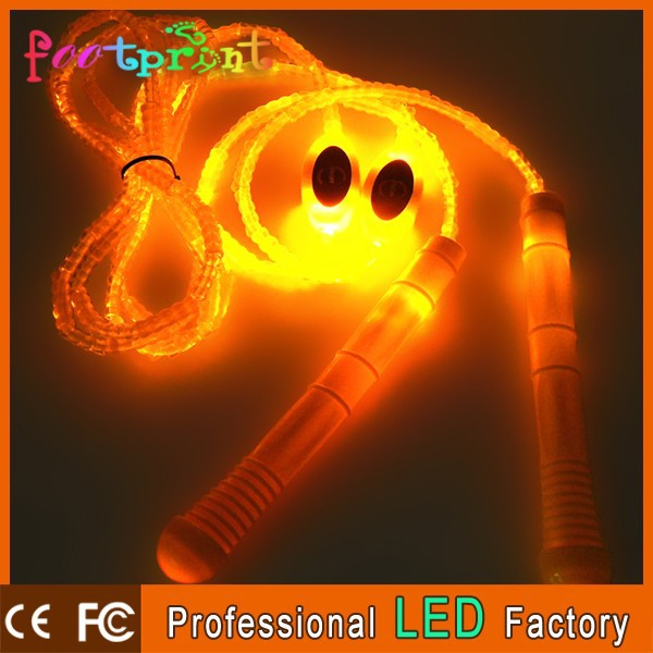 Superior quality LED Soft adjustable jump rope