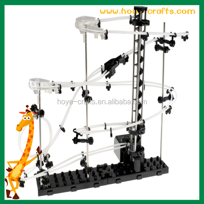 Educational value roller coaster kit spacerail as Christmas gifts for students children adults