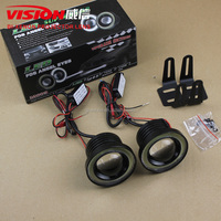 VISION Universal High Power Three Size 65mm 75mm 90mm Car Fog Light Led Fog Lamp Projector Lens