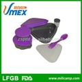 Outdoor camping plastic food packaging boxes hiking food packaging boxes