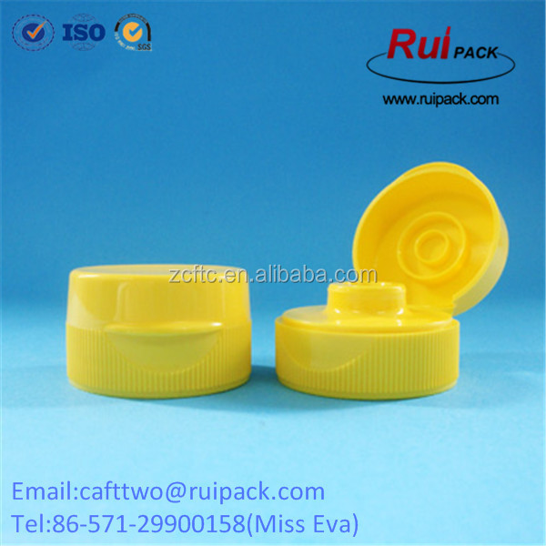31-400 32-400 flip top cap with silione valve for honey bottle
