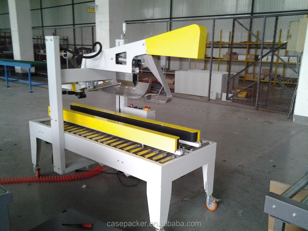 Factory price Manual adjusted flap folder and sealing machine