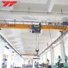 General Industrial Equipment single girder underhung bridge electric crane 10t 7.5 ton 2 ton