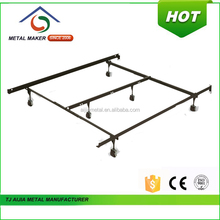 2016 most welcomed Ajustable Queen Bed Frame with locking wheels
