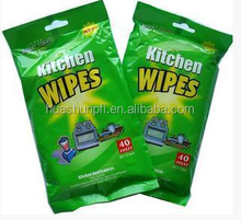 Hot Sale Disposable China manufacturer household cleaning wet wipes
