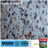 Caboli rock slice paint for exterior wall in high quality