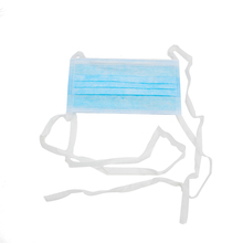 Disposable non woven 3 ply surgical face mask with ties