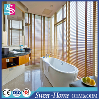Made in China industrial wooden venetian blinds,faux wood blinds