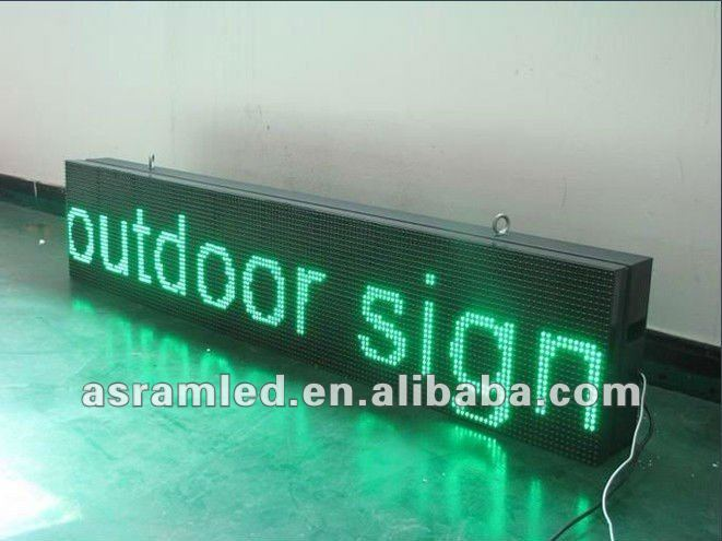 text/message p16 dip 2R led display sign/led screen/panel single color red