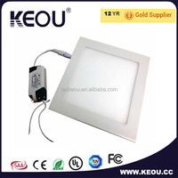Samsung chip 15w 6inch dimmable square led downlight 15watt competitive price