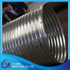 galvanized corrugated steel concrete culvert pipe