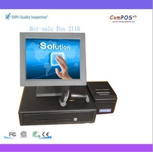 Pos2116 High Quality Restaurant Billing Machine,Pos Terminal,Pos all in one pc Whole Set Pos System